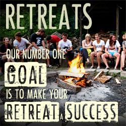 Retreats. Our number one goal is to make your retreat a success.